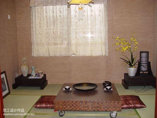 东南亚风格茶室日式榻榻米装修效果图欣赏