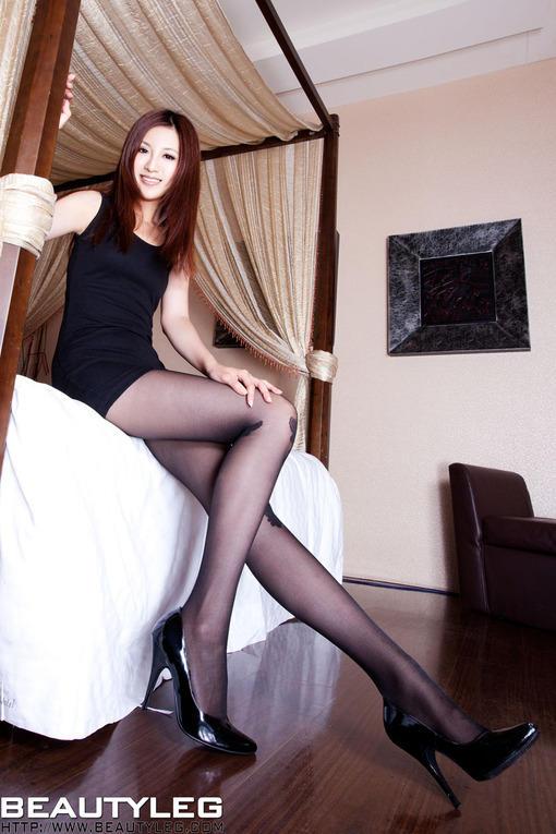 美腿丝袜图片 黑丝美腿高跟鞋美女写真 图片