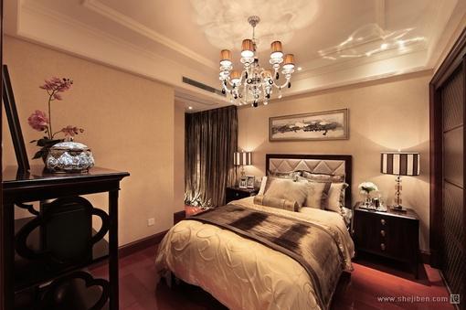 欧式风格次卧室装修效果图大全2013图片