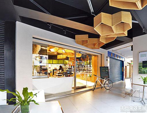 小型面包店 店面装修效果图 图片 hao123网址