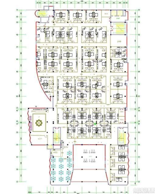 cad快捷酒店设计平面图 图片 hao123网址导