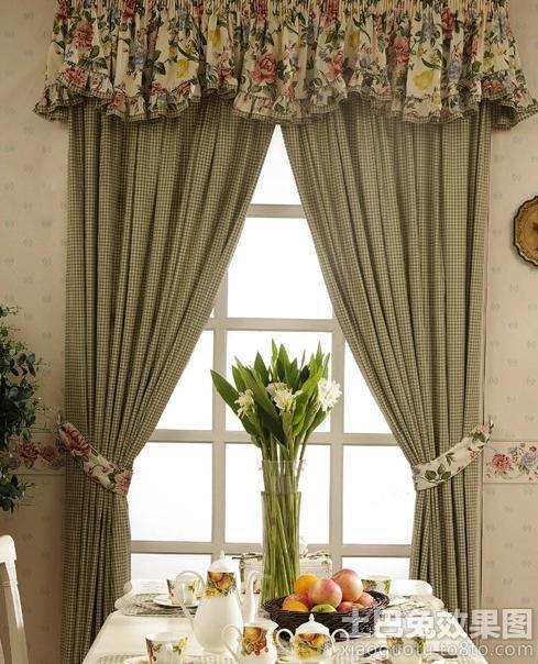 欧式餐厅窗帘效果图 欧式客厅装修效果图 欧式客厅吊顶效