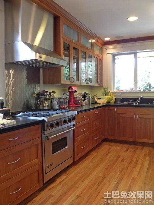 厨房壁柜装修效果图大全 图片 hao123网址导