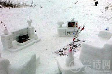 都不敢出去堆雪人了···
