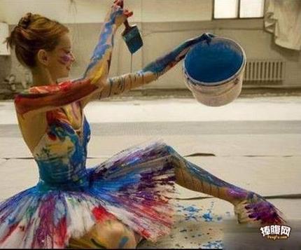 我的舞蹈更有颜色