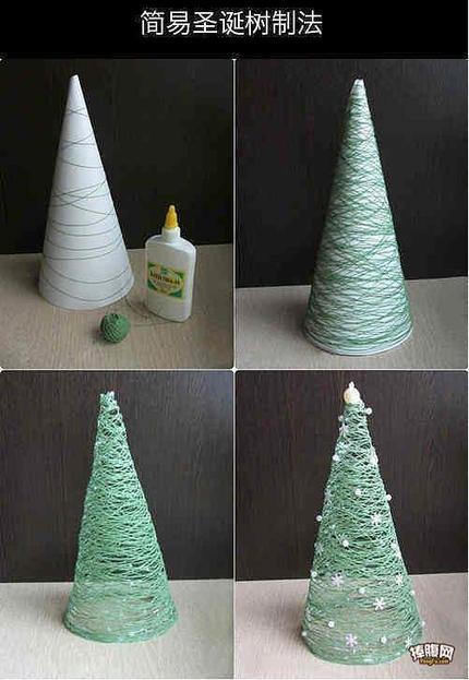 超实用贴~圣诞树的简易做法!你学会了吗?