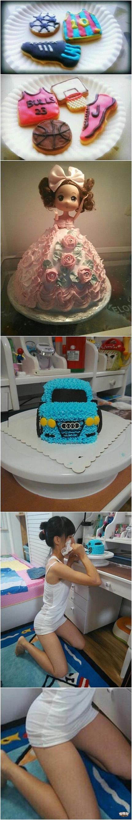 有个会做蛋糕的女朋友真好