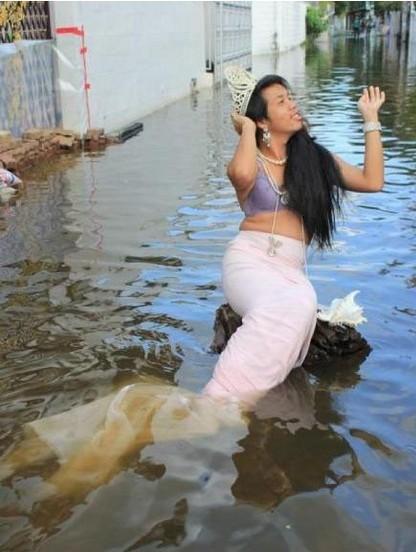 泰国美人鱼 搞笑